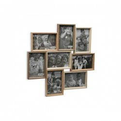 Porte photos mural Bois MDF...