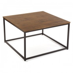 Table Bois Carré (80 x 46 x...