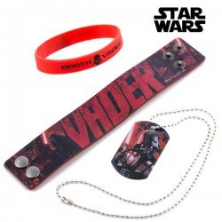 Bracelets et Collier Darth...