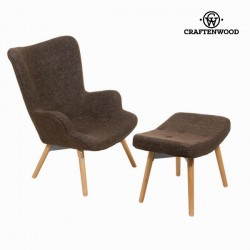 Chaise avec repose-pieds by...