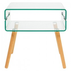 Table d'Appoint Beach Verre...