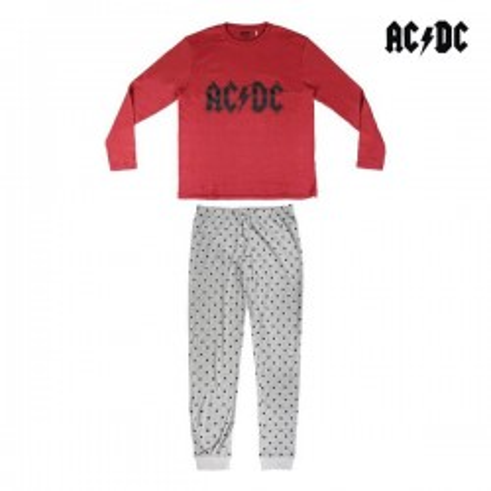 Pyjama AC/DC Adulte Gris...