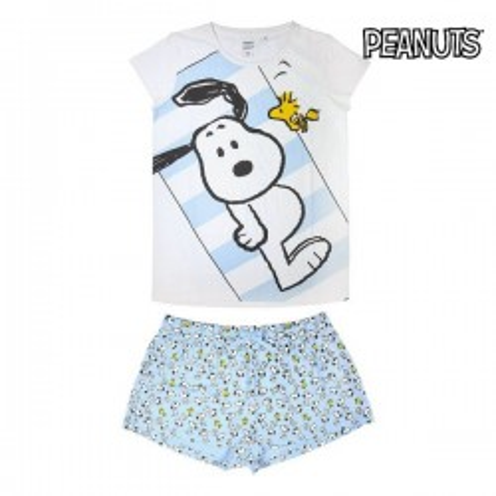 Pyjama D'Été Snoopy Adulte...