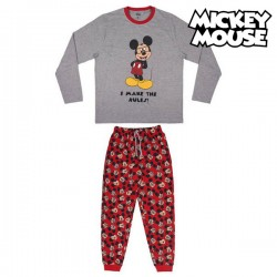 Pyjama Mickey Mouse Homme Gris