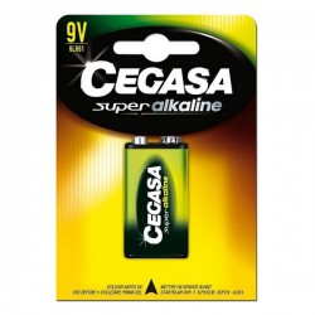 Pile Alcaline Cegasa 6LR61 9V