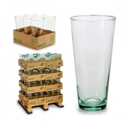 Vase en Verre Recyclé (12,5...