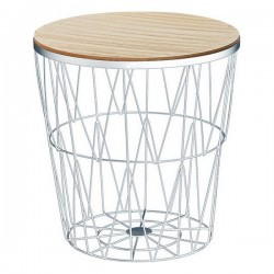 Table d'Appoint 115575 Blanc