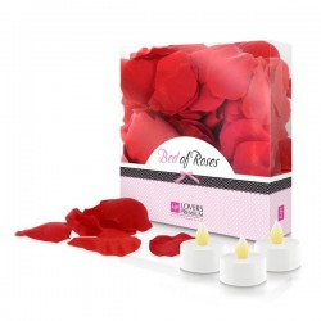 Lit de Roses Rouge...